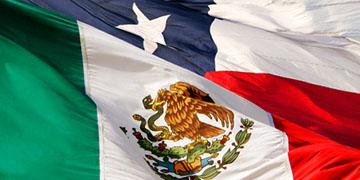 Banderas de México y Chile