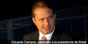 Eduardo Campos, candidato a la presidencia de Brasil