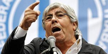 Hugo Moyano, secretario general de la CGT