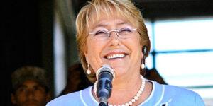 Michelle Bachelet, presidenta de Chile