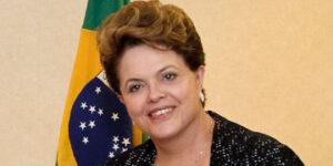 Dilma Russeff, presidenta de Brasil