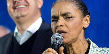 Marina Silva, candidata del Partido Socialista Brasileño a las elecciones presidenciales