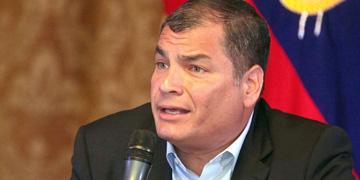 afael Correa, presidente de Ecuador
