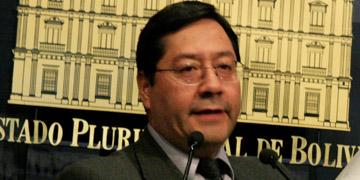 Luis Arce, ministro de Economía y Finanzas Públicas de Bolivia