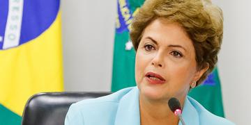 Dilma Rousseff, presidenta de Brasil