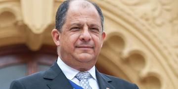 Luis Guillermo Solis, presidente de Costa Rica
