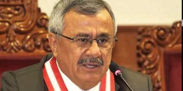 Francisco Távara, presidente del Jurado Nacional de Elecciones (JNE) de Perú