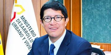Diego Aulestia, ministro de Comercio Exterior de Ecuador