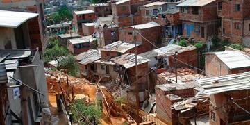 Barrio marginal de Colombia