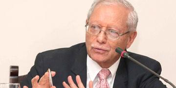 Helio Fallas, ministro de Hacienda de Costa Rica