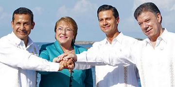 Presidentes de la Alianza Pacífico