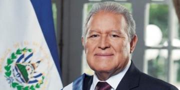 Salvador Sánchez Cerés, presidente de El Salvador