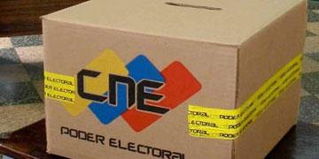 Urna electoral de Venezuela