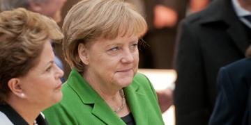 Dilma Rousseff y Angela Merkel