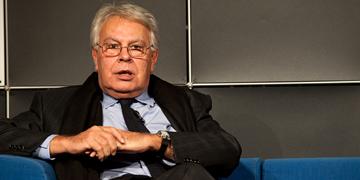 Felipe González, expresidente del Gobierno de España