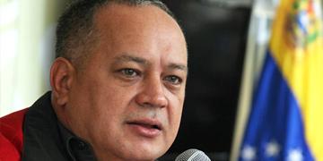 Diosdado Cabello, presidente de la Asamblea Nacional
