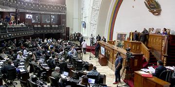 Pleno de la Asamblea Nacional de Venezuela