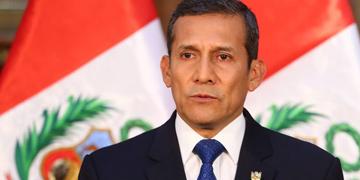 Ollanta Humala, president de Perú