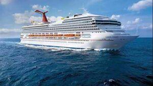 Barco crucero de Carnival
