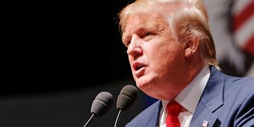 Donald Trump, candidato republicano en las primarias de EEUU