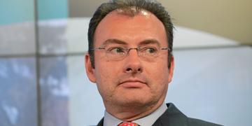 Luis Videgaray, secretario de Hacienda y Crédito Público de México