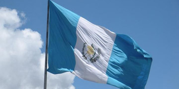 Bandera de Guateamala