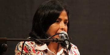 Delcy Rodríguez, ministra venezolana de Relaciones Exteriores