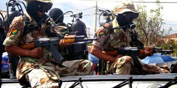 Militares de Bolivia