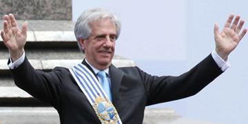 Tabaré Vázquez, presidente de la República Oriental de Uruguay