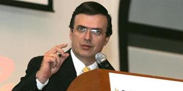 Marcelo Ebrard, ex jefe de gobierno de la Ciudad de México