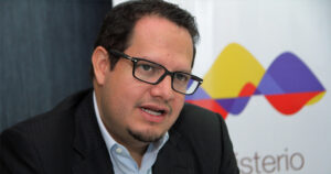 Javier Córdova, ministro de Minería de Ecuador