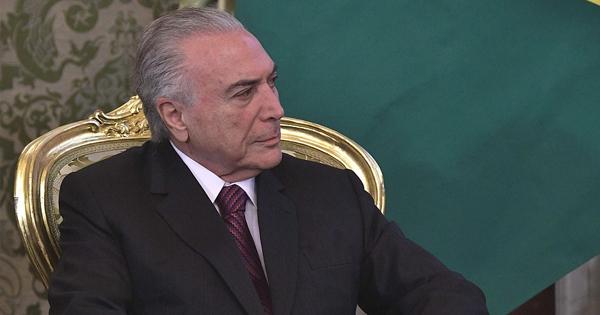 Michel Temer, presidente no electo de Brasil