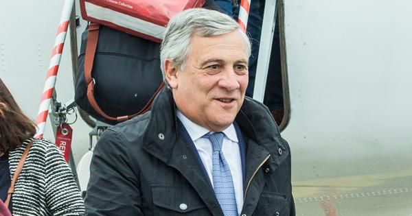 Antonio Tajani, presidente del Parlamento