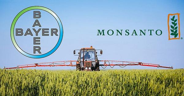 Logotipos de Bayer y Monsanto