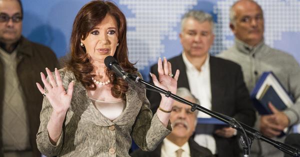 Cristina Fernández de Kirchner, presidenta de Argentina