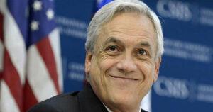Sebastián Piñera, candidato presidencial de Chile Vamos y expresidente