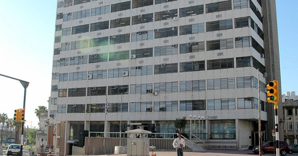 Edificio del Banco Central del Uruguay