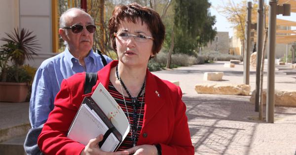 Christiane Lambert, presidenta del FNSEA