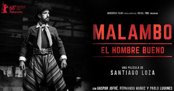 """Cartel de """"Malambo, el hombre bueno"""""""
