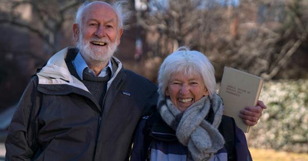Rosemary y Peter Grant, premiados por la Fundación BBVA. / FBBVA