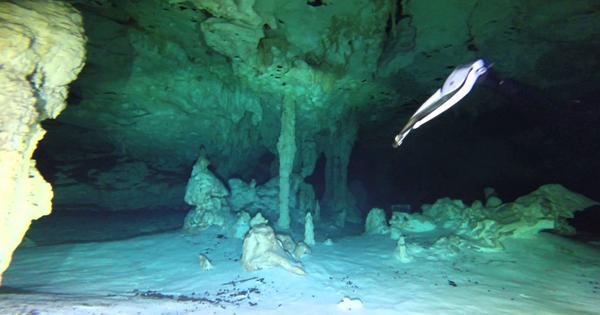 Cueva sumergida Sac Actun