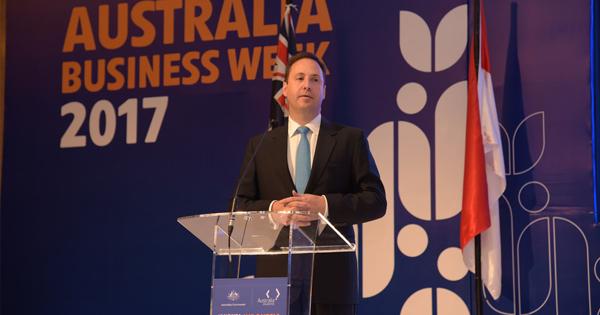 Steve Ciobo, ministro de Comercio de Australia