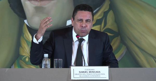 Samuel Moncada, embajador de Venezuela en la ONU