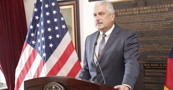 Thomas Rivera, presidente del Senado