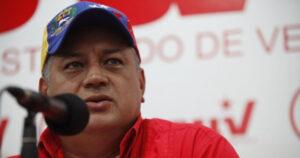 Diosdado Cabello, vicepresidente del Partido Socialista Unido de Venezuela (PSUV)