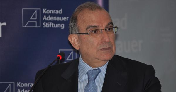Humberto de la Call, candidato presidencial del partido Liberal en Colombia