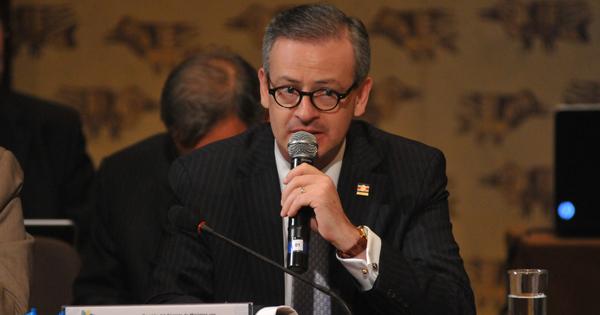 Manuel González, canciller de Costa Rica