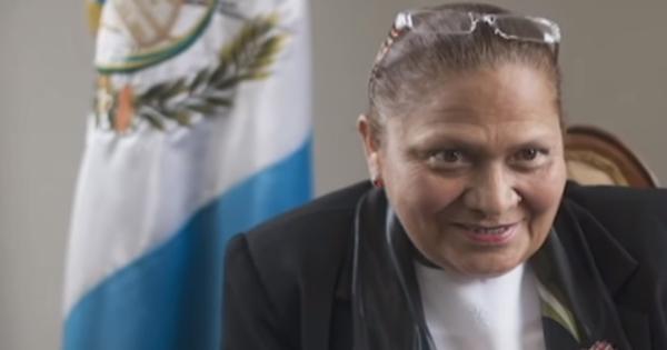 María Consuelo Porras Argueta, fiscal general y jefa del Ministerio Público de Guatemala