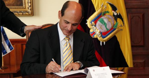 Rogelio Sierra, vicecanciller de Cuba