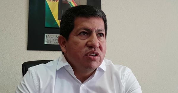 Luis Sánchez, ministro de Hidrocarburos de Bolivia